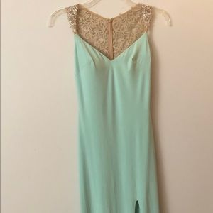 Elegant evening gown size 2
